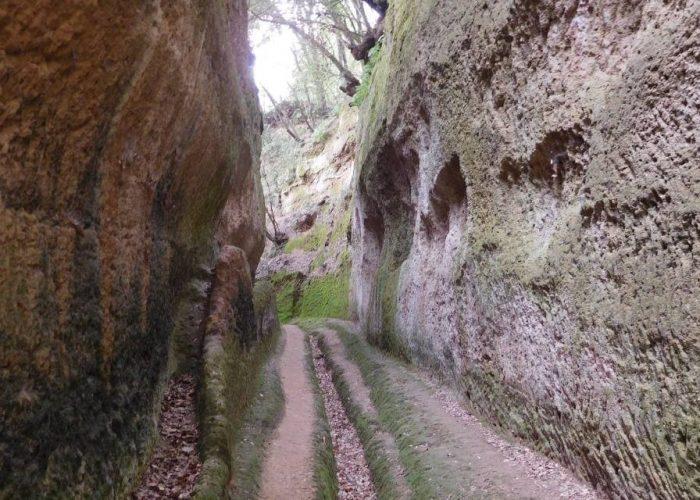 Trekking nella magia delle Vie Cave di Pitigliano di Maldavventura