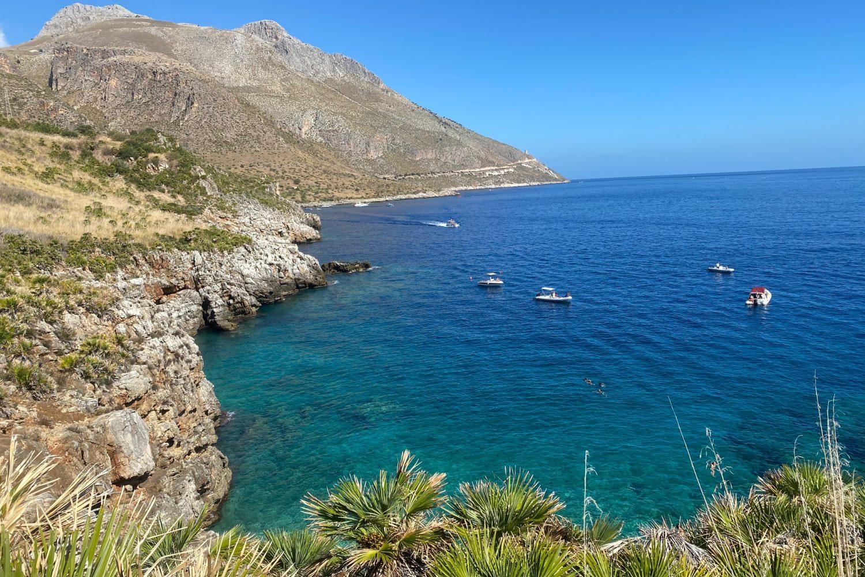 La riserva dello zingaro nel nostro viaggio Sicilia On The Road