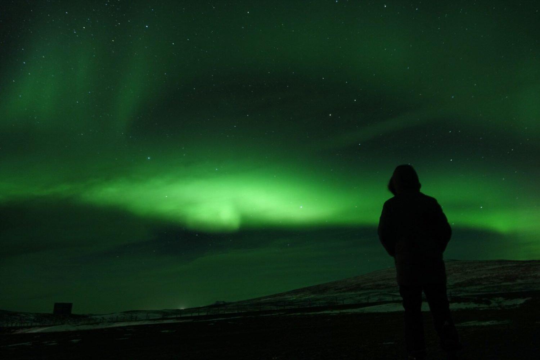 La magia dell'aurora boreale durante il nostro viaggio on the road in Islanda in invernale