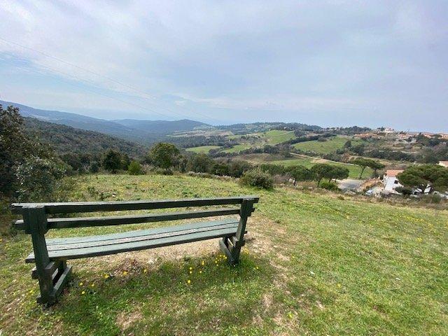 Le campagne viste dal borgo di Nibbiaia durante il weekend alla scoperta delle Colline Livornesi