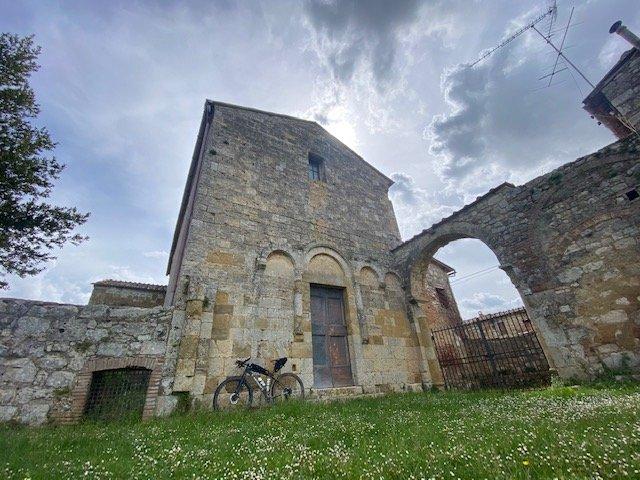 Via Francigena in bici da Siena a Viterbo targato Maldavventura
